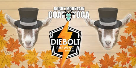 Goat Yoga - October 19th (Diebolt Brewing) tickets