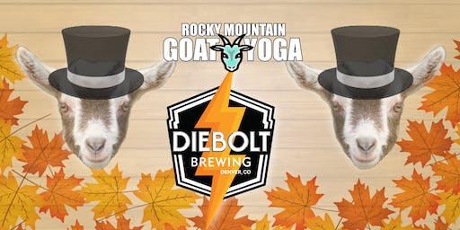 Goat Yoga - October 19th (Diebolt Brewing)