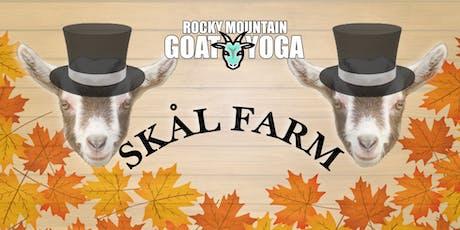 Goat Yoga - October 20th (Skål Farm) tickets