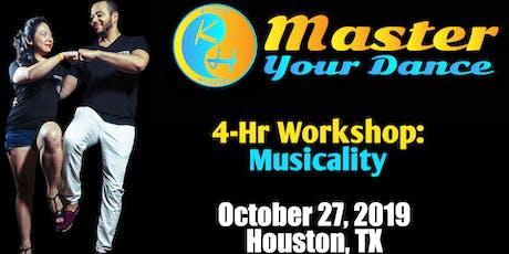 Kizomba Master Your Dance Workshop Musicality tickets