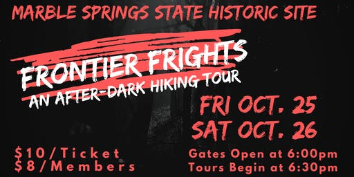 Frontier Frights: An After-Dark Hiking Tour