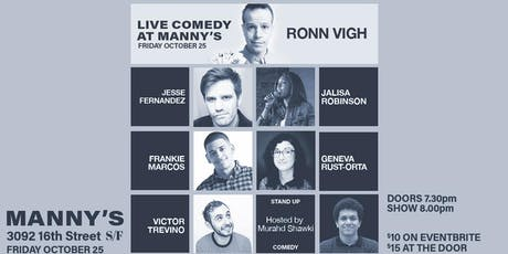 Live Comedy at Manny's! tickets