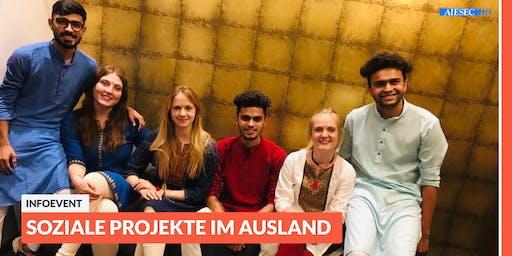 Ab ins Ausland: Infoevent zu sozialen Projekten im Ausland | Hannover