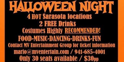 Halloween Costume Party Bar Crawl