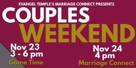 Couples Weekend (Game Time) tickets