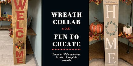 Wreath Collaboration with Fun To Create tickets