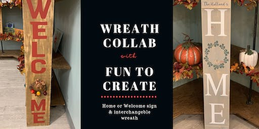 Wreath Collaboration with Fun To Create
