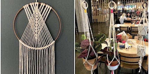 Macrame Dreamcatcher or Plant Hanger