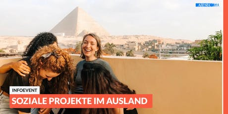 Ab ins Ausland: Infoevent zu sozialen Projekten im Ausland   Düsseldorf tickets