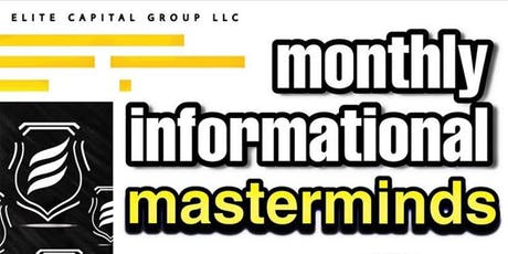 Monthly Informational Mastermind tickets