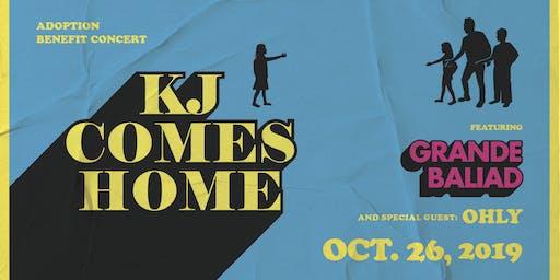 KJ Comes Home: Adoption Benefit Concert