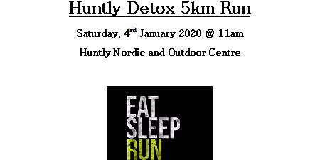 Huntly 5km Detox Run