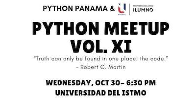 PYTHON MEETUP VOL. XI