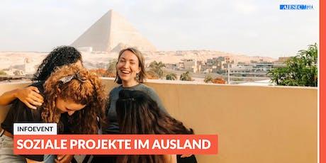Ab ins Ausland: Infoevent zu sozialen Projekten im Ausland | Düsseldorf tickets