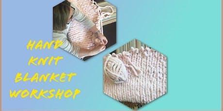 Hand Knit Blanket Class tickets