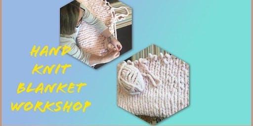 Hand Knit Blanket Class