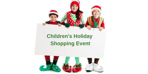 Children's Holiday Shopping Event