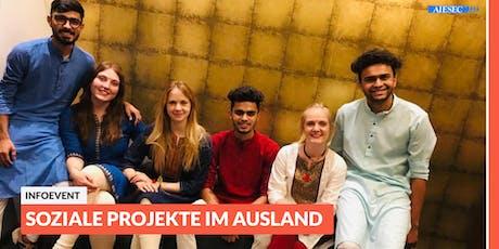 Ab ins Ausland: Infoevent zu sozialen Projekten im Ausland | Jena Tickets