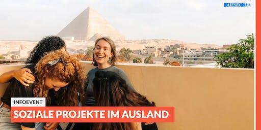 Ab ins Ausland: Infoevent zu sozialen Projekten im Ausland   Leipzig