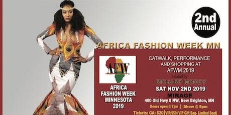 AFRICA FASHION WEEK MN tickets