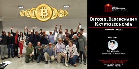 Training Class - Bitcoin, Blockchain y Kryptoeconomía entradas
