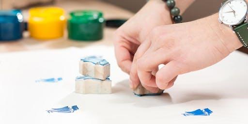 Handdruck Auf Stoff Workshop - ein altes Handwerk NEU erleben!