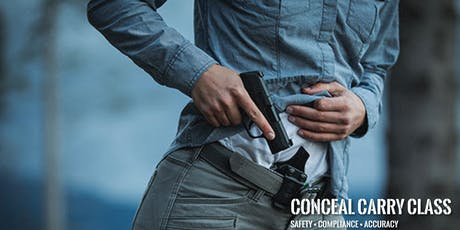 DCF Conceal Carry Class tickets