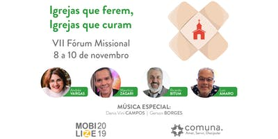 Mobilize 2019 - VII Fórum Missional - Igrejas que ferem, Igrejas que curam