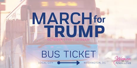 March for Trump: BUS from Richmond, VA to Washington DC tickets