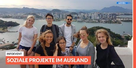 Ab ins Ausland: Infoevent zu sozialen Projekten im Ausland   Lüneburg Tickets