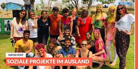 Ab ins Ausland: Infoevent zu sozialen Projekten im Ausland | München Tickets