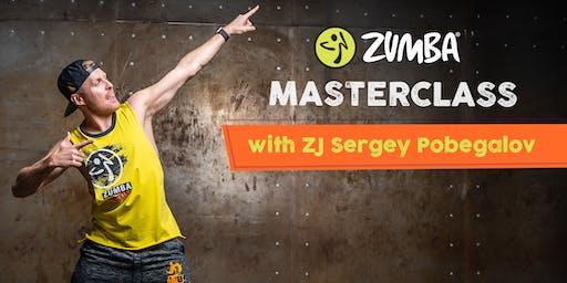 Zumba® Masterclass w/ZJ Sergey Pobegalov!!