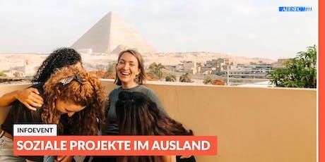 Ab ins Ausland: Infoevent zu sozialen Projekten im Ausland | Leipzig Tickets