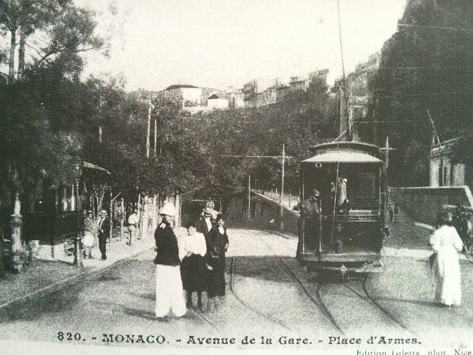 Conférence : l'arrivée du rail à Monaco.