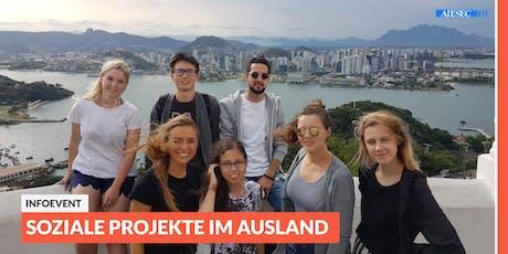 Ab ins Ausland: Infoevent zu sozialen Projekten im Ausland | Bielefeld Tickets