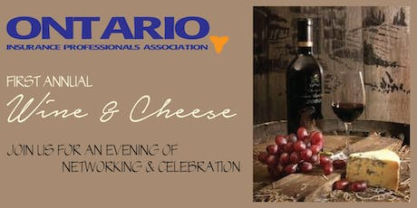 Ontario Insurance Professionals Association - Wine & Cheese tickets
