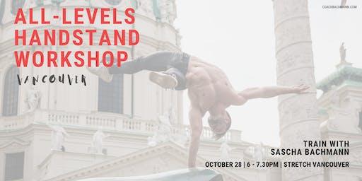 All-Levels Handstand Workshop