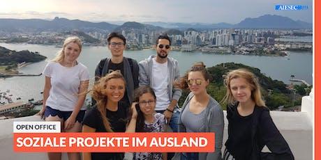 Ab ins Ausland: Open Office-Tag zu sozialen Projekten im Ausland | Dresden Tickets