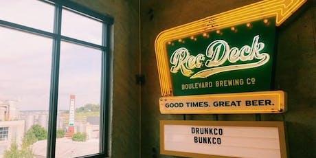 October DrunKCo BunKCo at The Rec Deck! tickets