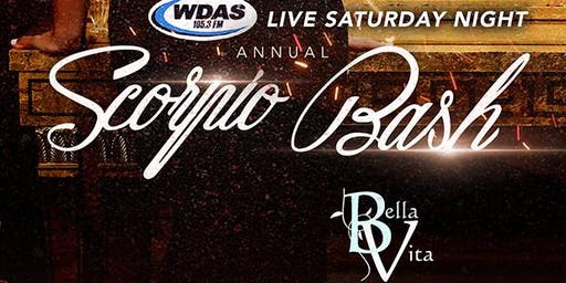WDAS LIVE SATURDAY NIGHT SCORPIO BASH
