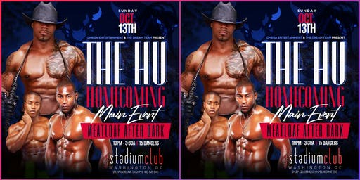HU HOMECOMING MAIN EVENT GRAND FINALE MEATLOAF AFTER DARK TONIGHT @STADIUM