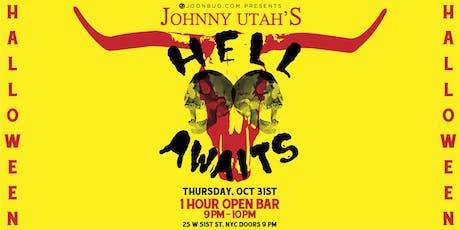 Johnny Utah's Halloween Party 10/31 tickets