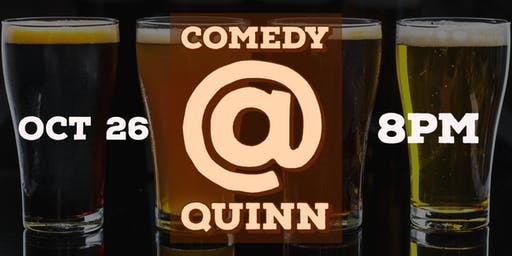 Comedy at Quinn Brewing Company