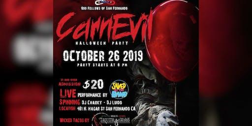 "Odd Fellows Halloween Party ""CarnEvil"""