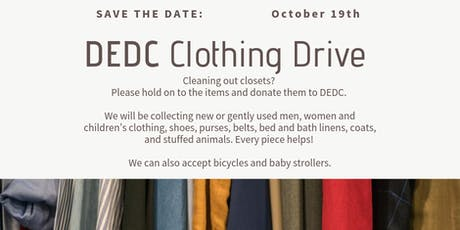 Clothing Drive tickets