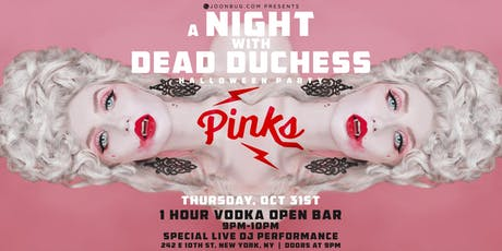 PINKS Halloween Party 10/31 tickets