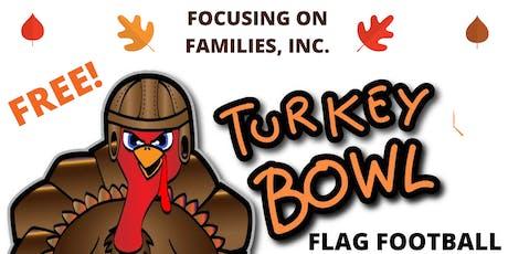 2nd Annual Flag Football Turkey Bowl tickets