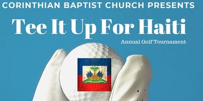 CBC Annual Golf Outing:  Tee It Up for Haiti