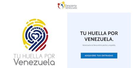 Tu Huella Por Venezuela entradas