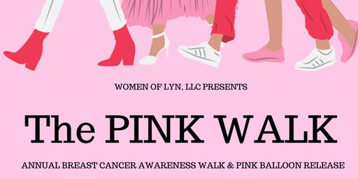 The PINK WALK: Annual Breast Cancer Walk & Pink Balloon Release